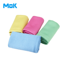 4P Microfiber Cleaning Cloths Water Magnent Kitchen Washing Drying Towels 40x50cm - Solid Diamond Glass Dust Car Washcloth