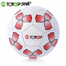 PTOTOP Adult Children PU Football Training Balls Slip-Resistant Seemless Match Training Competition Football Soccer Ball NEW(China)