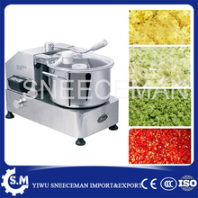 6L stainless steel vegetable cutting machine meat food broken stuffing mixer machine for sale(China)