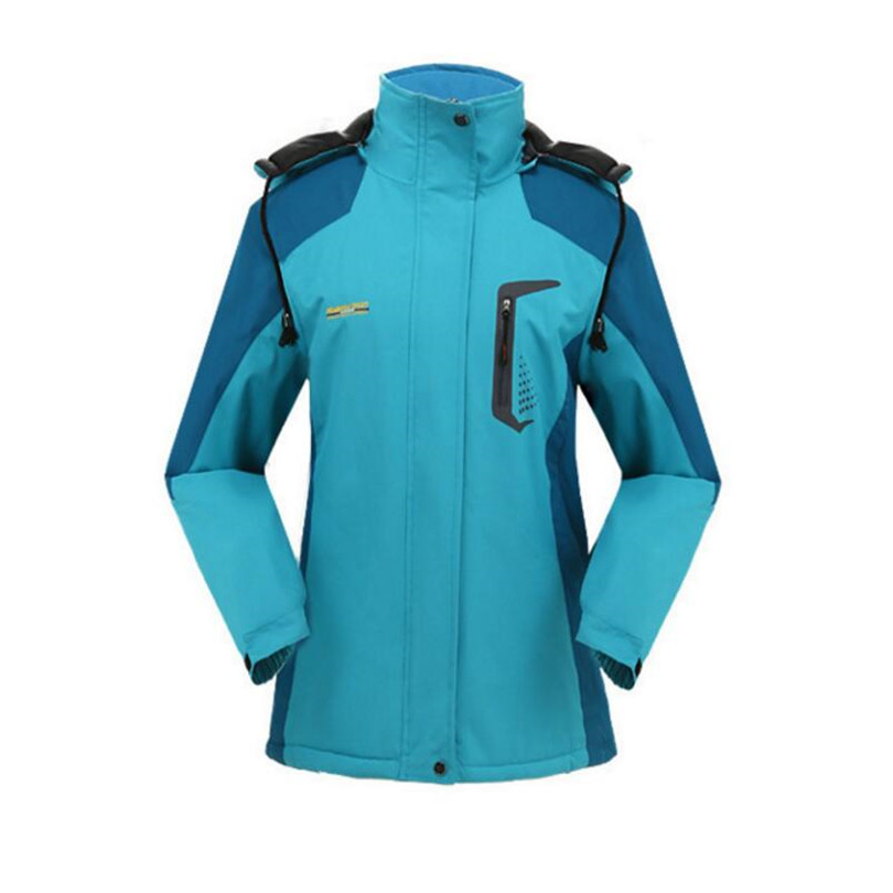 DICHSKI High Quality Autumn Winter Thicken Jackets Women Windproof Outdoor Windbreaker Hiking Jackets Female Sports Camping Coat<br>