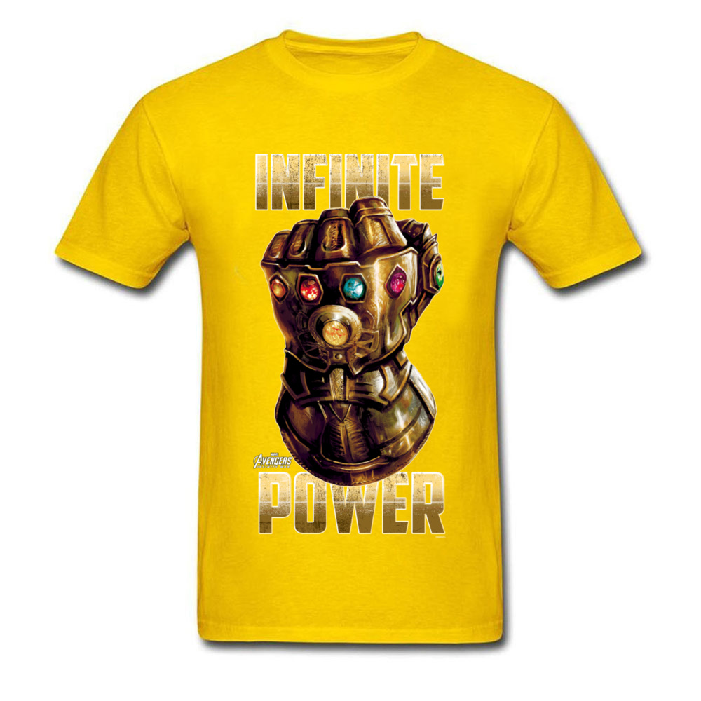 Star War Infinite Power Summer/Fall Pure Cotton Round Neck Tees Short Sleeve Funny Tops Tees 2018 Newest Summer T-Shirt Infinite Power yellow
