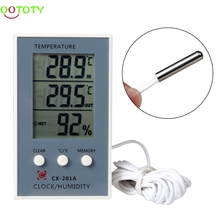 LCD Digital Thermometer Hygrometer Temperature Humidity Measurer Tester(China)