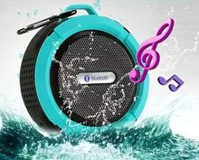Portable Outdoor Bluetooth3.0 Waterproof  Speaker Wireless Mini  Loudspeakers Speakers with Suction Cup for iphone Samsung C6