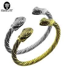 Fashon Jewelry Viking Bracelet Wolf & Snake &bud &cow head Bracelets and bangle for women the wizard wolf accessories souvenir