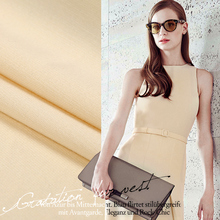 The Nordic Peter Taiwan Imperial Senior Fashion Apparel Fabric Drape Cream-Colored Twill Elastic Cloth Fabric