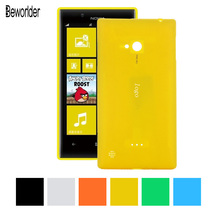 For Nokia Lumia 720 Replace Original back cover Candy color Battery case Protector PC cases Battery cover For Nokia 720