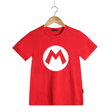 Super Mario Brothers T-shirts for Kids Cartoon Summer Design Toddler Boy Girl T Shirts Luigi Wario Princess Peach Waluigi