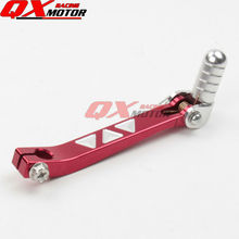 Red Aluminum Folding Shifter Shift Lever For CRF50 CRF70 XR50 KLX TTR BBR Chinese 90 110 125 140 150 160cc Dirt Pit Bike
