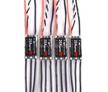 4pcs/lot LittleBee 20A OPTO PRO ESC Little bee BLHeli 2-4S Supports OneShot125 For Martian RC Helicopter Quadcopter Multirotors(China)