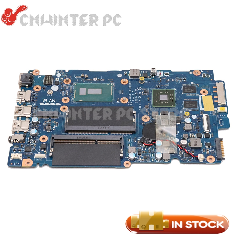 NOKOTION For Dell Inspiron 5448 5548 laptop motherboard ZAVC1 LA-B016P CN-0JGW4R 0JGW4R main board SR244 I3-5005U CPU