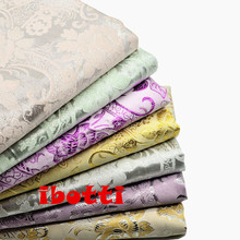 50*150cm Jacquard Cotton Fabric Meter Floral Dacron Dobby Jersey Sewing Quilting Patchwork Tissues Textiles Costura Felt Telas(China)