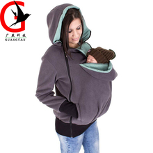 Multifunctional Baby Carrier Jacket Kangaroo Winter Maternity Outerwear Coat for Pregnant Women baby carrier JXYS-1(China)