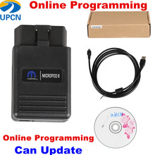Online Programming .... MicroPod 2 V17.04.27 Diagnostic Tool Witech MicroPod2 HDD for Chrysler Dodge Jeep Fiat(China)