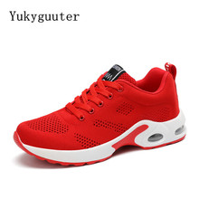 Sport Running Shoes Woman Outdoor Breathable Comfortable Couple Shoes Lightweight Athletic Mesh Sneakers Women High Quality(China)