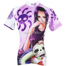 ropa ciclismo new arrival comic One Piece women's sexy Boa Hancock cartoon cycling jersey Hancock novelty bike wear/clothes