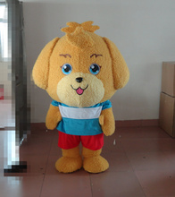 Cute Puppy Dog Mascot Costume Adult Cartoon Character Mascotte Mascota Outfit Suit