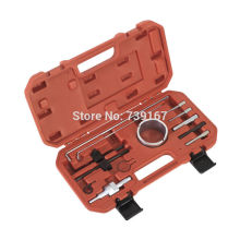 Diesel Petrol Engine Timing Belt Tensioner Pulley Flywheel Tool Kit For Citroen Peugeot 1.8 2.0 ST0161