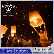 2017 Heart Flying Wishing Lamp Hot Air Balloon Kongming Lantern Cute Love Heart Sky Lantern Party Favors For Birthday Party(Hong Kong)