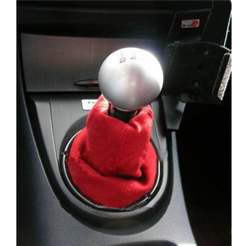 Partol 5 Speed Gear Shift Knob Ball JDM Racing Shifter Knob Aluminum Round For Honda Civic Manual Transmission Lock Nut Billet 21