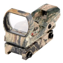 Camouflage Hunting Tactical(on 20mm rail) 36mm/22mm Holographic Reflex 4 modes Red Green Dot Sight Scope VE488 T15 0.45