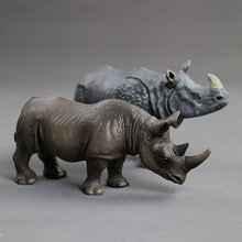 Hot toys for children:simulation of wild animal toy models,Rhinoceros, rhinoceros of India,PVC plastic,toy animals,boys for toys