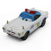 Brand New Pixar Cars Police Finn Mcmissile Diecast Metal Cartoon Movie Toy Car For Children Gift 1:55 Loose Brand New In Stock(China)