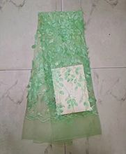 Green 3d Lace Fabric Hojilou On Sale African Lace Fabric With Sequins Panic Buying Nigeria Lace 2017 Design