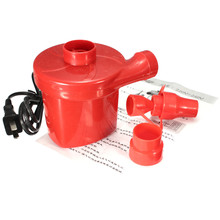 AC 220V Air Pump Inflate Deflate for Car And Air Bed Compression Bag Mattress With US plug(China)
