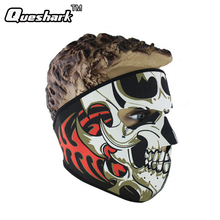 Winter Skull Cycling Bicycle Motorcycle Riding Face Mask Outdoor Sports Ski Snowboard Protective Thermal Windproof Full Face Mas