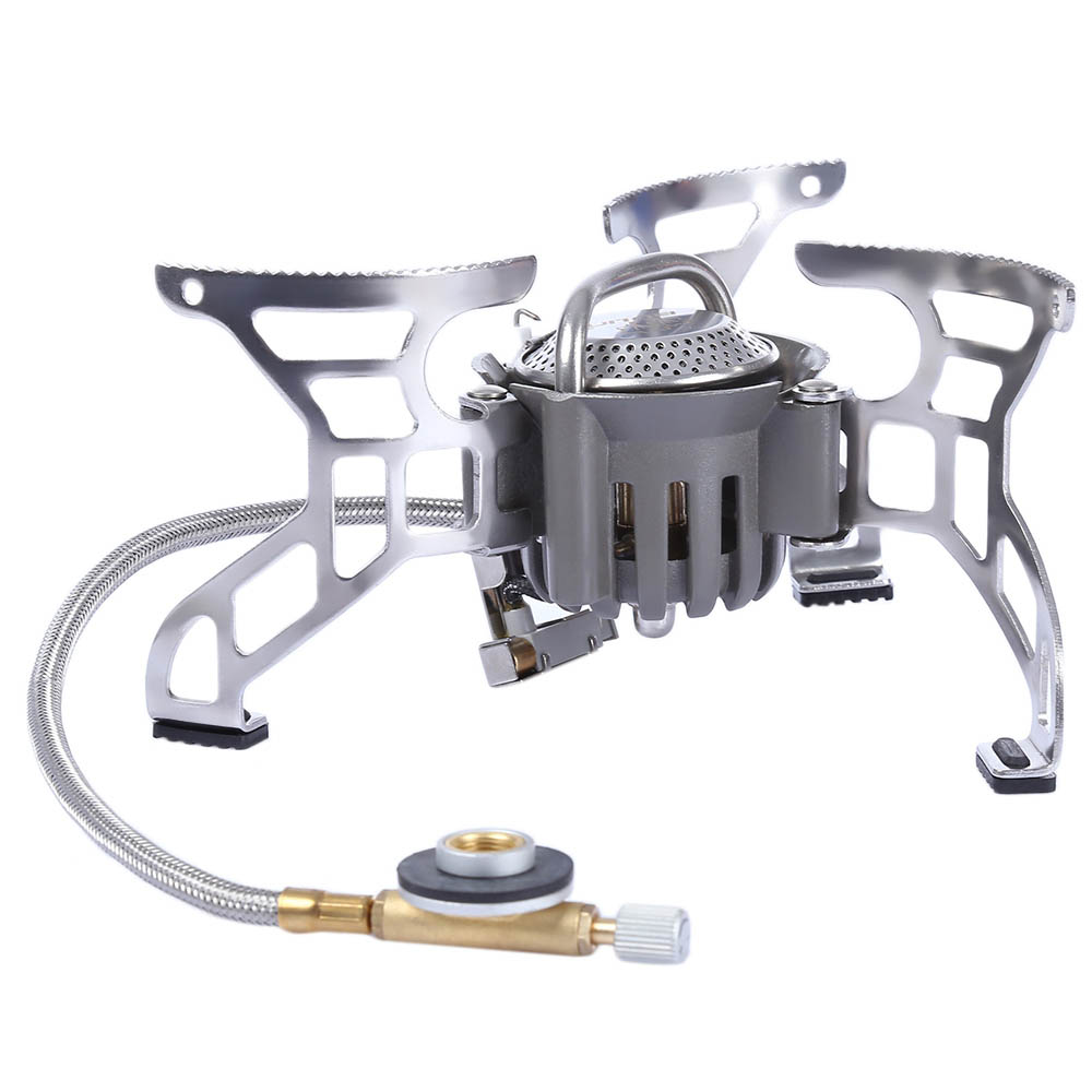 BL100 - T4 - A stove Portable Outdoor Equipment Cooking Gas Stove Gas-burners Picnic Accessories Travel Kit Cooktop<br>