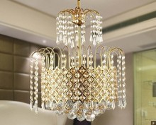 Crystal combination lamps European crystal sitting lighting  lamps and lanterns PENDANT LIGHTS