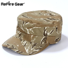 ReFire Gear US RU Army Camouflage Tactical Baseball Cap Men Conceal Soldier Combat Hat Women Man New Airsoft Paintball Camo Cap