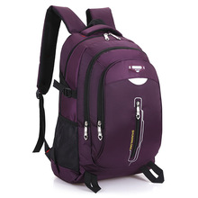 women high quality nylon large capacity travel backpack female cool travel accessory backpack lady cute laptop purple backpack