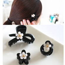 0355 2017Newest style 2pcs/lot USA style fashion goody acrylic hair claw clamp for girls