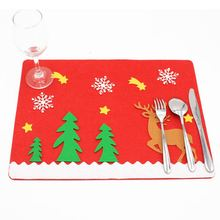 Perfect-Elk Christmas Paddle West Cutlery Fork Jacket 45 * 34cm