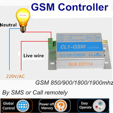 Gsm Relay Interruptor Wireless controller by sms or call for home automation Rolling Doors/Water Pump/ AC Motor 220v.-KLN