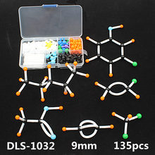 organic chemistry molecular model kit DLS-1032 atom model for high school teachers and students(China)
