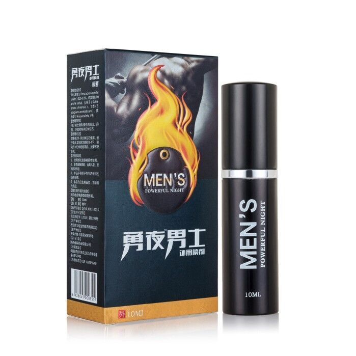 1Pack 10ML GOOD EFFECT Extender Enlargement durable adult herbs MEN'S Powerful Night Delay sexual Spray for man long time(China)