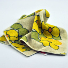 Hot Sale Printed Beautiful Microfiber Towel Microfiber Cloth For Cleaning Car Kitchen 35*35cm