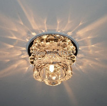 New Modern Crystal 3W LED Ceiling Light Fixture  led indoor light  led ceiling white light 0248