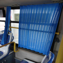 hongliangyang auto curtains auto curtain bus Van RV window sunshade blue with hook free shipping(China)