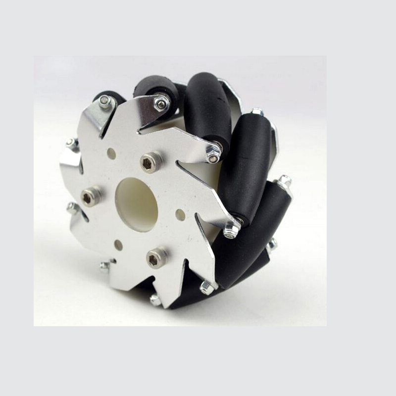 Wholesale 4 inch 100 mm Right Mecanum Wheels (Bearing Rollers)<br>
