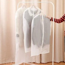 B296 thickening can be washed clothes transparent dust cover suit coat clothes dust jacket