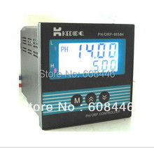 LCD PH/ORP Controller CT-6659+ORP electrode industry ORP sensor CT-1111 free shipping(China)