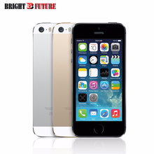 In Stock offer Wholesale,drop shipping used factory unlocked Genuine iPhone 5s fingerprint IOS 4G LTE gift tempered glass(China)