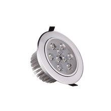 50X Wholesale 9W LED ceiling light high lumen led ceiling light with factory supply express free shipping