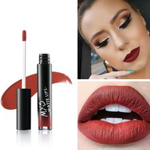 MYS Beauty Waterproof Batom Matte tint Liquid Lipstick Smooth Lip Stick Long Lasting Lip Gloss Cosmetic Makeup Kit Maquiagem(China)