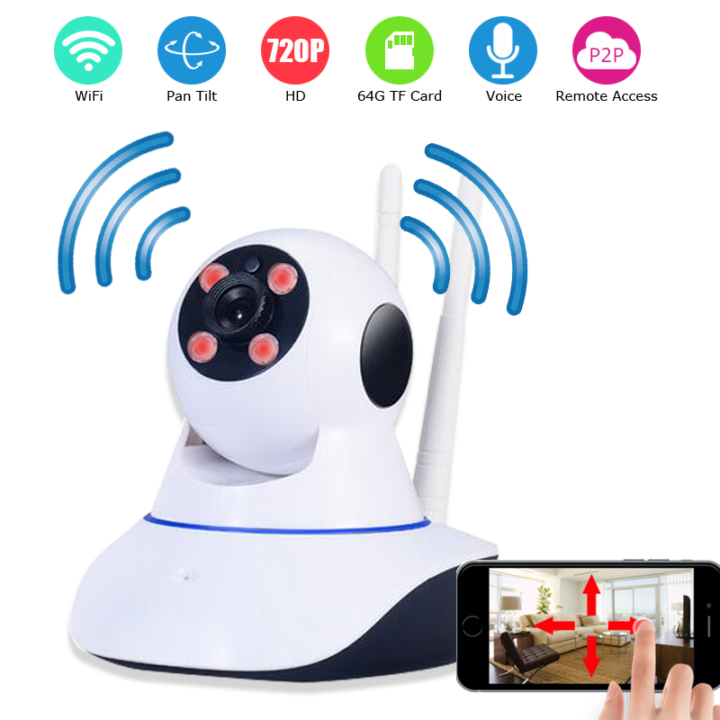 Smart Home Guard Wireless/Wired IP CAMERA 720P/960P WIFI Home Security CCTV Surveillance Camera P2P Infrared Night Vision <br>