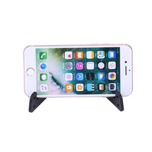 Alloet Portable Mobile Phone Standing Desk CellPhone Holder Smartphone Accessories For Sumsung Huawei Phones Tablet(China)