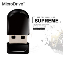 Super Mini Real Capacity Black USB Flash Drive 64GB 32GB 16GB 8GB 4GB USB Mini Tiny Pen Memory Sticks Car usb Flash Drive(China)